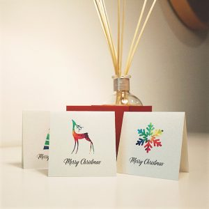 wrapt up xmas card pack full